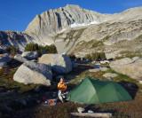 Cascade Lake camp