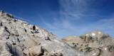 Mt Connes east ridge - granite is grippy!