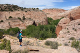 Day 2 We hiked back down the Escalante past Boulder Creek confluence exiting on an old cattle trail