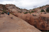 We descended another old cattle trail to The Gulch