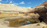 Water at last- Potholes descending to Boulder Creek