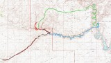 2nd HIKE map Hurricane Wash- Bobsway-Escalante-Coyote