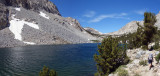 Passing by Piute Lakes