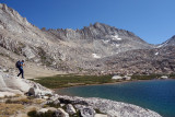 Back to Feather Pass at Bearpaw Lake