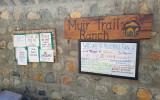 We reach Muir Trail Ranch