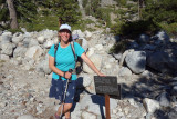 At the San Joquin river- entering the National Park