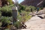 Boulder creek water gauge