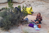 September 2019 Escalante area -Boulder Creek breakfast
