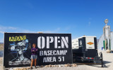 We drove back through Nevada just missing the 'storm area 51' festival
