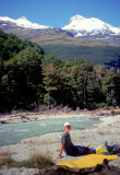 1998 New Zealand On the Rees Dart trail