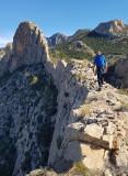 Cabazon d'Or ridge scramble