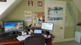 March- Home working office!