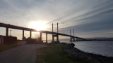 April- Kessock Bridge at 7am