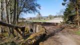 April- 'Hobbit bridge' in Rosehaugh