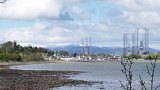 May- Cromarty with fresh snow on Ben Wyvis
