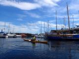 May- Kayaking into Inverness marina