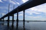 May- Kayaking under Kessock bridge