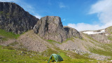 July 20 First wild camp following relaxing of shutdown rules - Shelterstone Cairngorms