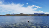 August 20 Gruinard Island -stop for a swim on a hot day