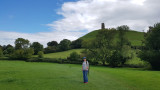 Sep20 Stopoff at Glastonbury Tor on the way down to Cornwall