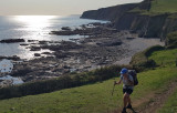 Sep20 Hiking late into Porthleven