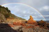 Oct 20 Rainbow on the Eathie coast, Black Isle