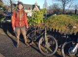Nov 20 Muddy mountain biking near Aviemore!