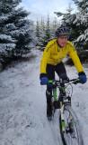 Dec 20 Snow at Red Rocks mountain bike trails, Black Isle