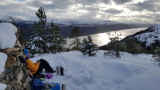 Jan 21 Great Glen Way north of Invermorrison looking to Loch Ness