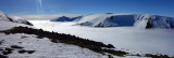 March 21 Cairngorms ski tour with cloud inversion Lairig Ghru