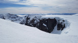 Mar 21 Brearaich, Cairngorms looking to Cairn Toul, lots of snow still around at the March equinox