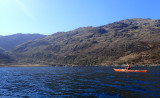 April 21 Knoydart - Crossing from Arnisdale to a river delta and potential camp