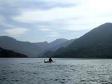 April 21 Knoydart - Paddling toward the head of the fjord like Loch Hourn