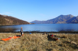 April 21 Knoydart - Leaving camp in the morning