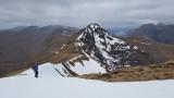 April 21 On the south Glen Shiel ridge