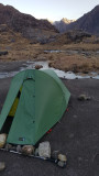 April 21 Skye Coruisk camp on gabbro slabs