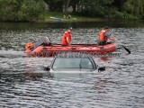 07/02/2019 Car In The Water Rockland MA