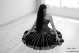 Céline - Black dress / Robe noire