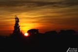 Second sunset of the year / Second coucher de soleil de l'année