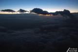 Cloudy sky at dusk / Ciel nuageux au crépuscule