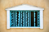 Window on building in Old Town Albuquerque, New Mexico 308