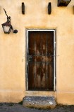 Front door in Albuquerque Old Town, New Mexico 329
