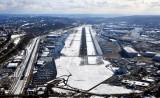 High Final to runway 14R at Boeing Field, KBFI, Seattle, Washington 451