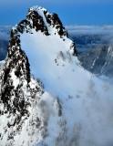 Kaleetan Peak and Chair Peak at Sunset, Cascade Mountains, Washington 894