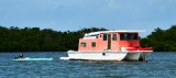Colorful boats in Littlle Basin, Islamorada, Florida Keys, Florida 527