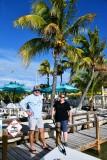 Allen and friend at Lorelei Restaurant & Cabana Bar, Islamorada, Florida Keys, Florida 851
