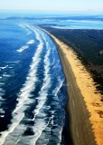 Sunset Beach, Fort Stevens State Park, Columbia River, Cape Disappointment State Park, Oregon and Washington 207