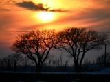 Sunset in Olathe Kansas 013