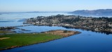 Astoria, Youngs Bay, Youngs River, New Youngs Bay Bridge Hwy 101, Columbia River, Astoria-Megler Bridge, Oregon and Wasington