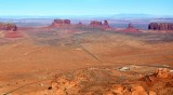 Eagle Mesa, Brighams Tomb, Saddleback, King on his Throne, Stagecoach, Castle Rock, Monument Valley Utah 1051